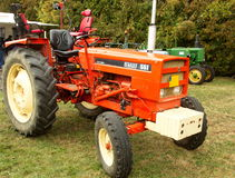 Oude Renault-tractor Royalty-vrije Stock Fotografie