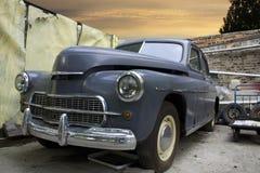 Oude retro auto stock afbeeldingen