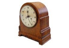 Oude retro klok Royalty-vrije Stock Foto's