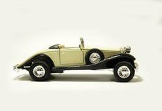 Oude retro modelauto Royalty-vrije Stock Foto's