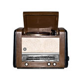 Oude retro radio. Royalty-vrije Stock Fotografie