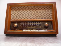 Oude retro radio Stock Foto's