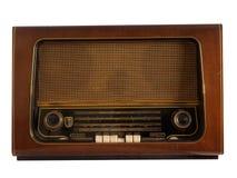 Oude retro radio royalty-vrije stock afbeelding