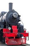 Oude (retro) stoommotor (locomotief). Royalty-vrije Stock Fotografie