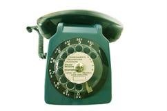 Oude retro telefoon Stock Afbeeldingen