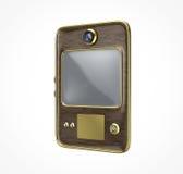 Oude retro uitstekende tablet Stock Fotografie