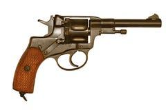 Oude revolver Royalty-vrije Stock Afbeeldingen
