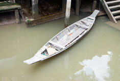OUDE RIJboot Stock Fotografie