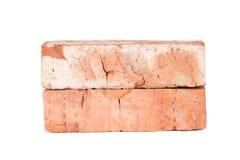Oude rode baksteen Royalty-vrije Stock Foto