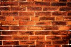 Oude rode bakstenen muur Royalty-vrije Stock Afbeeldingen