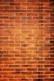 Oude rode bakstenen muur Stock Afbeeldingen