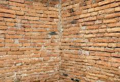 Oude rode bakstenen muur. Royalty-vrije Stock Foto