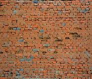 Oude rode bakstenen muur Royalty-vrije Stock Afbeelding
