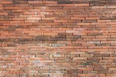 Oude rode bakstenen muur Patroon Royalty-vrije Stock Foto's