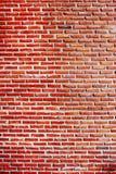 Oude rode bakstenen muurachtergronden royalty-vrije stock afbeeldingen