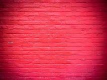 Oude rode bakstenen muurtextuur stock illustratie