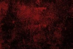 Oude rode gekraste achtergrond stock illustratie