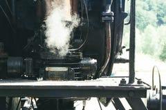 Oude rode treinwagen Royalty-vrije Stock Foto