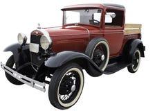 Oude Rode Vrachtwagen Royalty-vrije Stock Foto