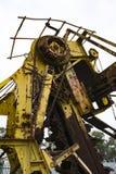 Oude Roestende Machines, Fluisterende Muur, Barossa-Reservoir stock foto's