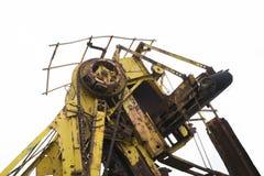 Oude Roestende Machines, Fluisterende Muur, Barossa-Reservoir royalty-vrije stock fotografie