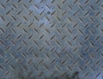 Oude roestige de dekkings abstracte achtergrond van het metaalmangat Stock Afbeelding