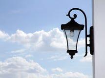 Oude roestige lantaarn Stock Afbeeldingen