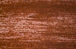 Oude roestige metaalachtergrond stock afbeelding