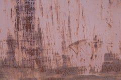Oude roestige metaalachtergrond Stock Fotografie
