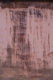 Oude roestige metaalachtergrond Royalty-vrije Stock Foto