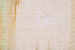Oude roestige muur Stock Afbeeldingen