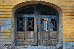 Oude Roestige Poort Royalty-vrije Stock Afbeelding