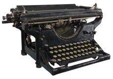 Oude roestige schrijfmachine Royalty-vrije Stock Fotografie