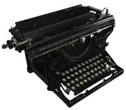 Oude roestige schrijfmachine Stock Afbeelding
