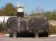 Oude roestige tank Royalty-vrije Stock Fotografie