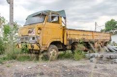 Oude Roestige Vrachtwagen Royalty-vrije Stock Afbeelding