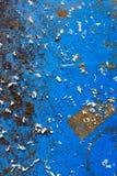 Oude roestige vuile metaalachtergrond met vlek en stof royalty-vrije stock afbeeldingen