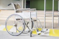 Oude rolstoel Stock Foto