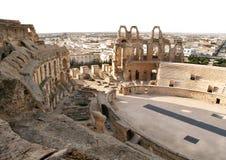oude roman coliseum stock foto's