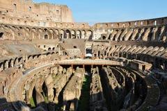 Oude roman colosseum in Rome, Italië Royalty-vrije Stock Fotografie