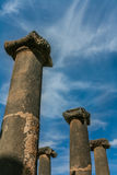 Oude Roman kolommen Stock Afbeeldingen