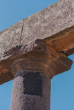 Oude Roman kolommen Stock Foto's