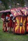 Oude roman militairen 4 Royalty-vrije Stock Afbeeldingen