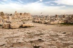 Oude Roman overblijfselen Stock Afbeelding