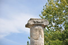 Oude Roman ruïnes Royalty-vrije Stock Afbeelding