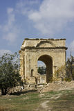 Oude Roman stad van Gerasa moderne Jerash Stock Fotografie