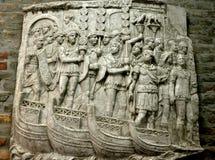 Oude roman steengravure Royalty-vrije Stock Afbeeldingen