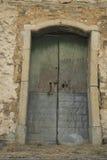 Oude Roscigno, Cilento (IT) Werven van huizen waarin 20 jaar niet wordt gewoond in royalty-vrije stock afbeelding