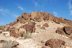 Oude rotsen Royalty-vrije Stock Fotografie