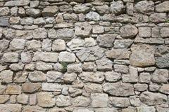 Oude rotsmuur Stock Afbeelding